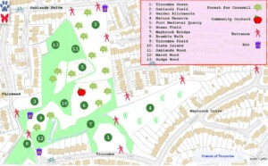Tincombe park map
